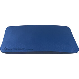 Sea to Summit FoamCore Coussin Deluxe, navy blue